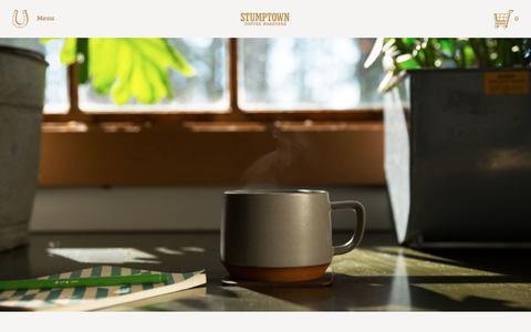 Screenshot of Blog stumptowncoffee.com - Coffee Class: Get Fresh  | Stumptown Coffee Roasters Blog - captured Jan. 23, 2016