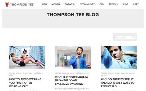 Thompson Tee Blog  - Thompson Tee Blog