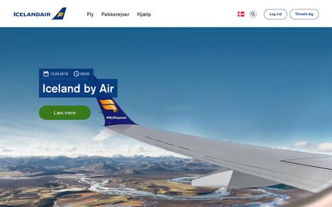 Screenshot of Blog icelandair.com - Blog | Icelandair - captured Oct. 21, 2018
