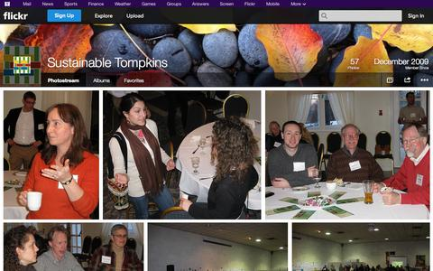 Screenshot of Flickr Page flickr.com - Flickr: Sustainable Tompkins' Photostream - captured Oct. 25, 2014