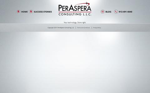 Screenshot of Privacy Page peraspera.com - Privacy Policy | PerAspera - captured Nov. 5, 2016