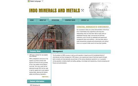 Screenshot of Team Page makrov.eu.com - IMM - captured Sept. 30, 2014