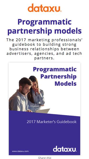 2017 Guidebook | Programmatic Partnership Models