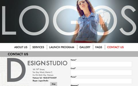 Screenshot of Contact Page logosfashionservice.com - Contact us - Best Low Volume Apparel Manufacturer In Vietnam For Start-Up Fashion Designers | Logos Fashion Service - captured Sept. 30, 2014