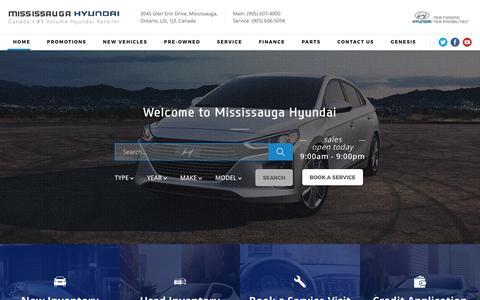 Mississauga Hyundai New & Used Hyundai | Mississauga, ON.