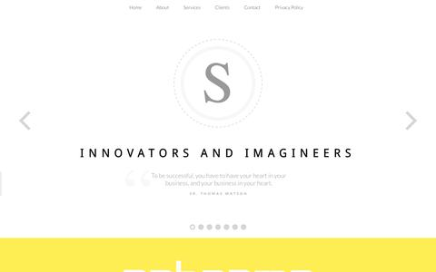 Screenshot of Home Page sebasma.com - Website Design | Website Development | E-Commerce website | CMS - Sebasma Infotech - captured Oct. 19, 2017