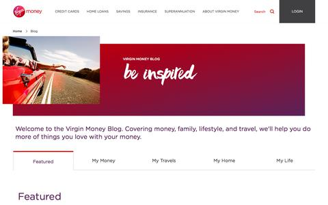Blog | Virgin Money Australia