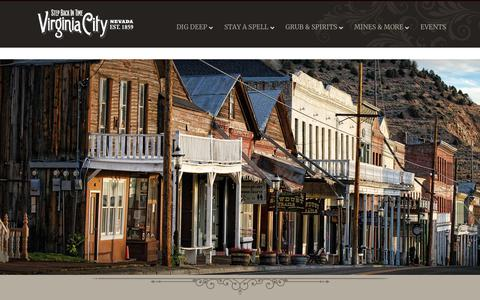 Screenshot of Privacy Page visitvirginiacitynv.com - Privacy Statement - Virginia City - captured Sept. 22, 2018