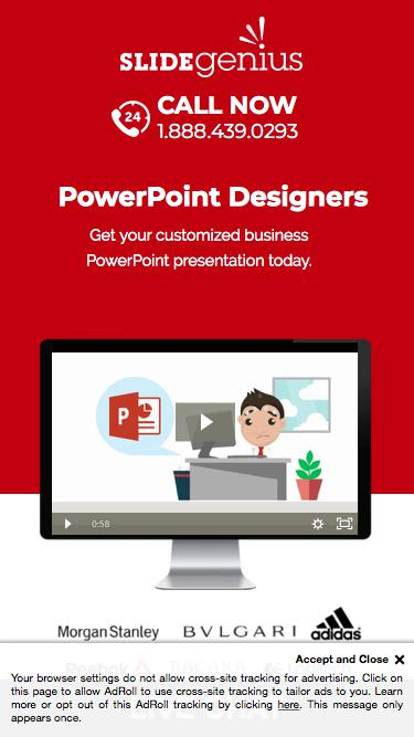 PowerPoint Company | We Create Custom PowerPoint Designs for Corporations and Business Executives