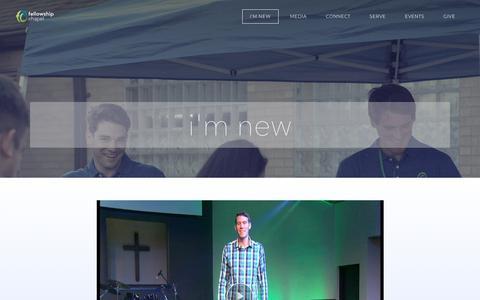 Screenshot of Team Page fellowshipchapel.net - I'M NEW - Fellowship Chapel - captured Aug. 12, 2018