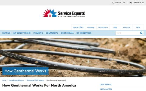 Geothermal Heating and Cooling in North America | Service Experts Heating & Air Conditioning