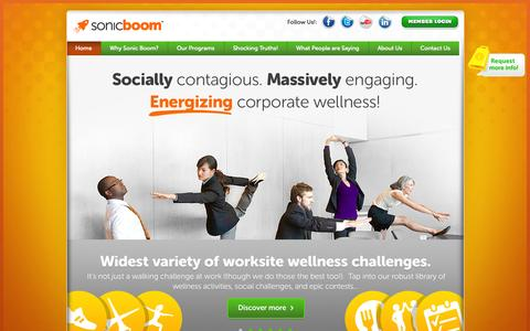 Corporate Wellness Programs That Work | Sonic Boom Wellness
