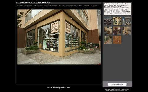 Screenshot of Team Page changessalon.com - Changes Salon & Day Spa Main Page - captured Oct. 2, 2014