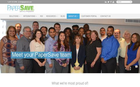 Our Team - Miami, Coral Gables, Hialeah | PaperSave