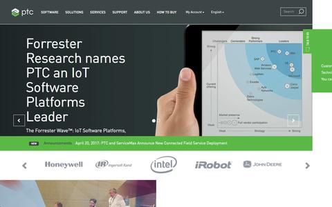 Technology Platforms and Solutions to Unlock the Value of the IoT   PTC