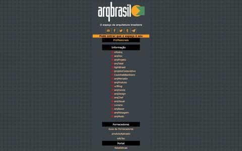 Screenshot of Menu Page arqbrasil.com.br - Arqbrasil - captured July 30, 2018