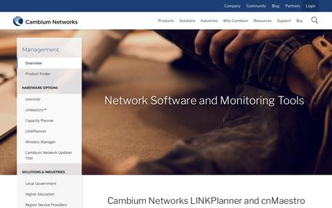 Screenshot of Team Page cambiumnetworks.com - Network Software and Monitoring Tools | Cambium Networks - captured July 15, 2018