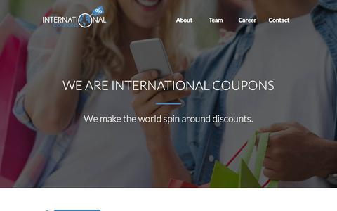 Screenshot of Testimonials Page internationalcoupons.com - Testimonials » InternationalCoupons.com - captured Oct. 1, 2015