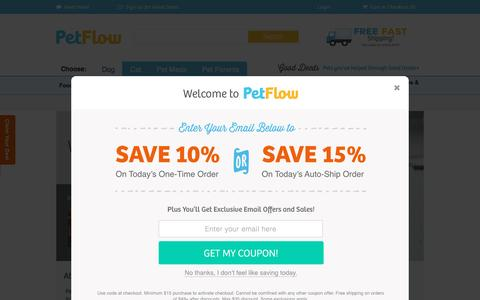 Screenshot of About Page petflow.com - About Us | PetFlow - captured Oct. 19, 2016
