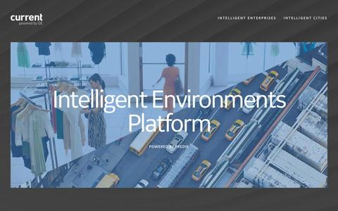 Screenshot of Developers Page currentbyge.com - Intelligent Environments Platform | Current, powered by GE - captured May 4, 2017