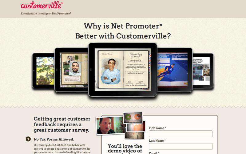 Net Promoter® Is Better with Customerville.