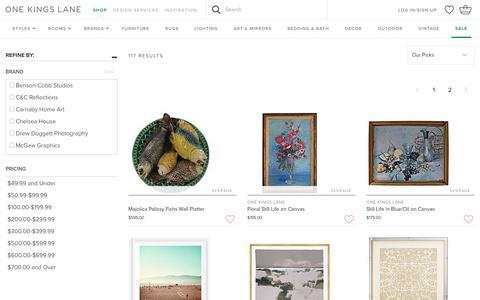 Art - Sale by Category - Sale | One Kings Lane