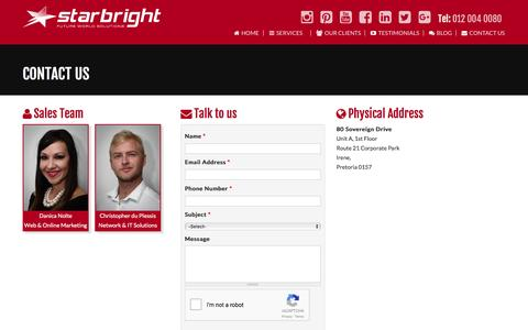 Contact Us   Starbright