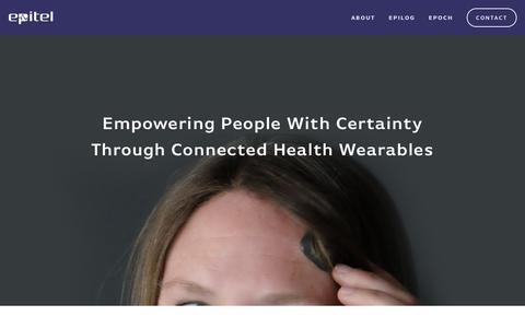 Screenshot of Home Page epitel.com - Epitel Inc. - captured Feb. 2, 2018