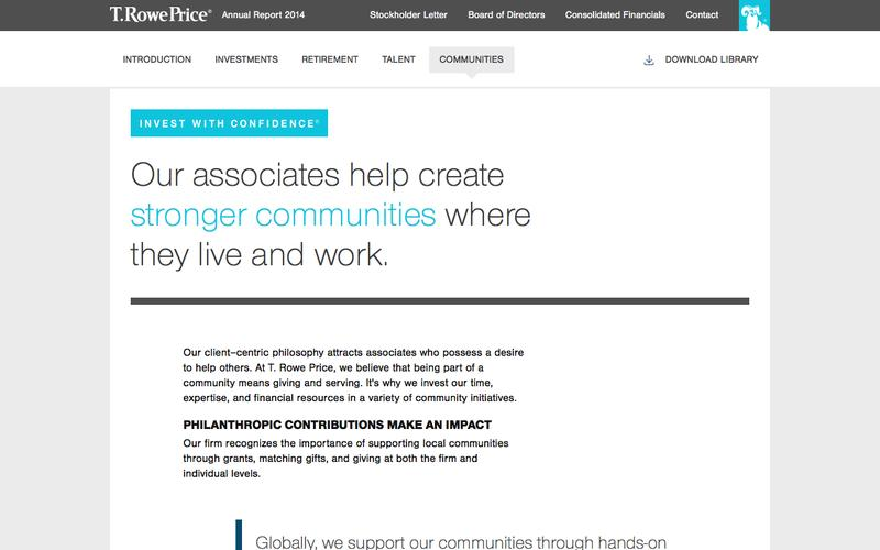 T. Rowe Price - Communities