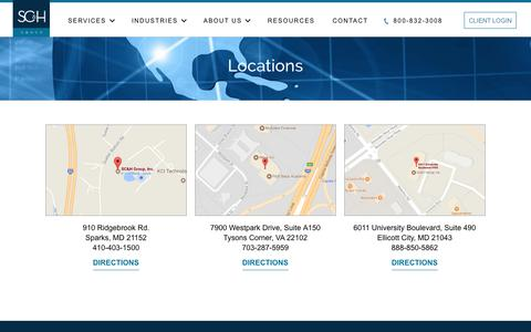 SC&H Group Locations | SC&H Group