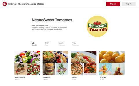 NatureSweet Tomatoes on Pinterest