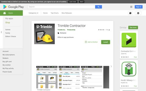 Trimble Contractor - Apps on Google Play