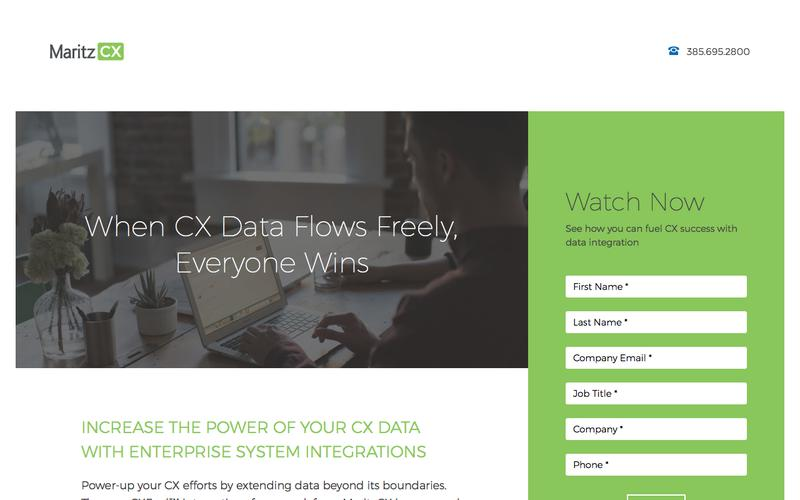 When CX Data Flows Freely, Everyone Wins | MaritzCX