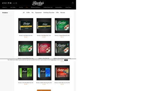 Shop Products - Bewley's Ireland