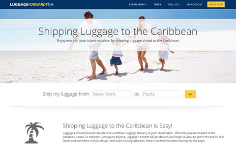 Shipping Luggage & Bags to the Caribbean
