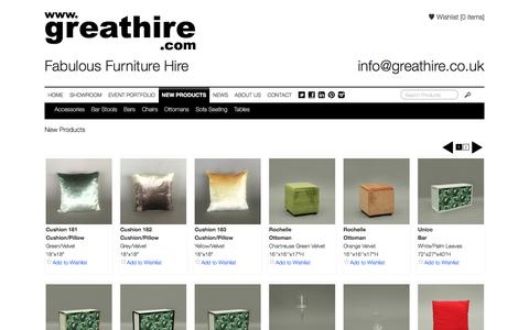Screenshot of Products Page greathire.com - New Products - GreatHire - captured Nov. 13, 2016