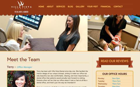 Screenshot of Team Page elkgrovedentist.com - Elk Grove Dental Team | Villa Vista Dental - captured Oct. 27, 2017