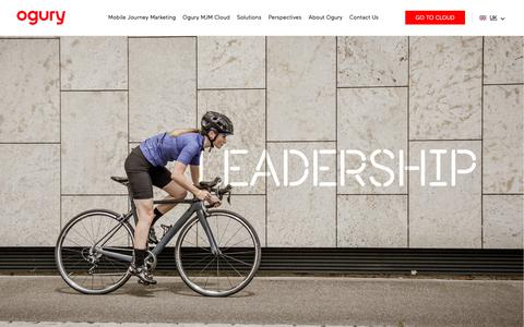 Screenshot of Team Page ogury.com - Leadership – Ogury - captured Feb. 21, 2019