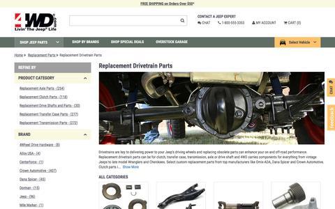 Replacement Drivetrain Parts | 4wd.com