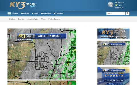 Screenshot of Maps & Directions Page ky3.com - Maps - captured Sept. 24, 2018