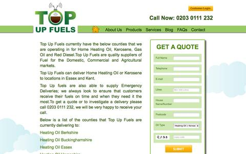 Screenshot of Locations Page topupfuels.co.uk - Locations - captured Oct. 7, 2014