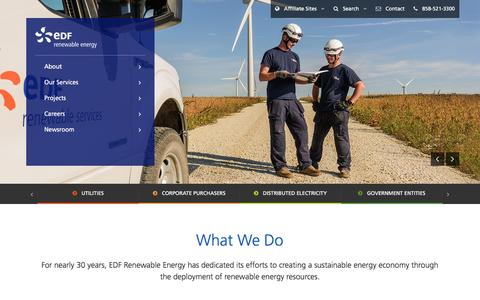 EDF RE Wind & Solar, TRUalytics, NERC Certified|Careers|San Diego, CA
