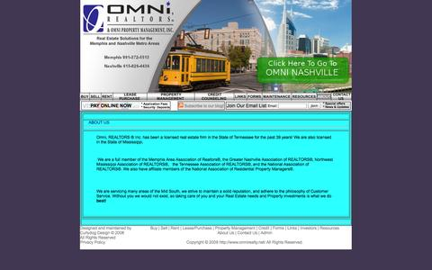 Screenshot of About Page omnirealty.net - Omni Realty - captured Oct. 26, 2014