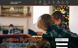 Old Screenshot Academy Mortgage Corporation Home Page