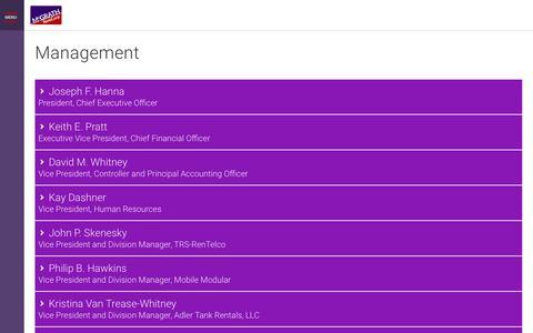 Screenshot of Team Page mgrc.com - Management   McGrath RentCorp - captured Oct. 2, 2018