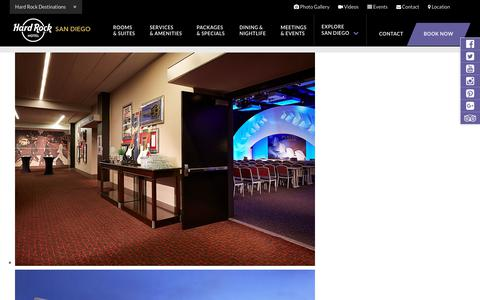 San Diego Meeting Rooms - Event & Party Venues - Hard Rock Hotel SD