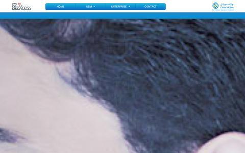 Screenshot of Services Page zong.com.pk - BizXcess - captured Jan. 13, 2016