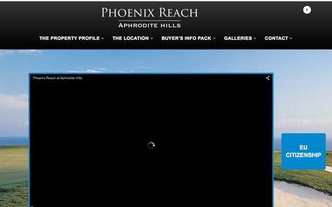 Screenshot of Home Page phoenix-reach.com - Phoenix Reach | phoenix-reach.com - captured Oct. 12, 2015