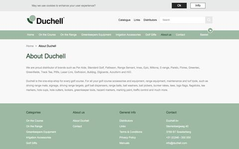 Screenshot of About Page duchell.com - About Duchell |  Duchell - captured Oct. 13, 2017