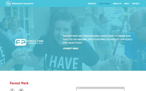 Screenshot of Case Studies Page midwesterninteractive.com - Midwestern Interactive : Web Design, Web Development, & SEO Company Joplin, MO | Web Design, Web Development, & SEO Company Bentonville, AR | Web Design, Web Development, & SEO Company Springfield, MO - captured Oct. 3, 2014